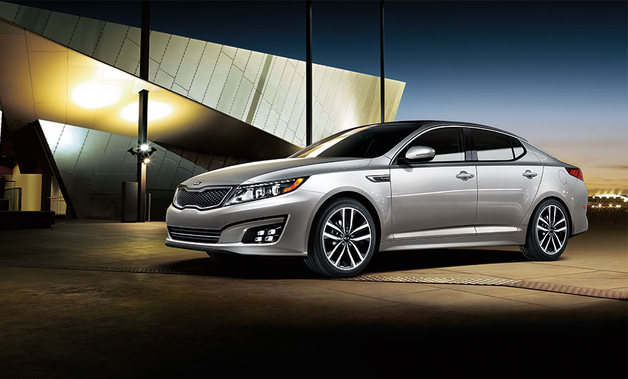 2015 Kia Optima Exterior Side View
