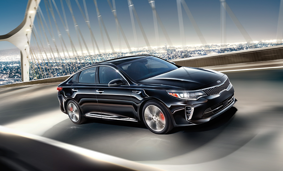 2016 Kia Optima SXL Turbo Exterior Front End