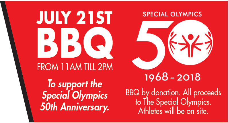Special Olympics 50th Anniversary BBQ Party